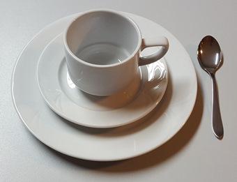Kaffeegedeck (Set), Porzellan