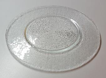 Platzteller aus Glas