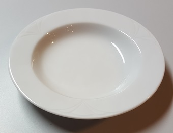 Salatteller, Porzellan