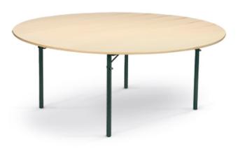 Tisch, rund, Ø 200 cm