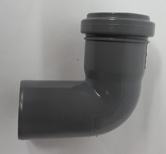Wasser-Abflussrohr, Ø 50 mm, Bogen 90 °