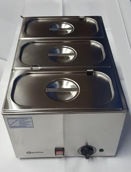 Bain Marie für 3/1 GN-Behälter mit Wasserablaufhahn