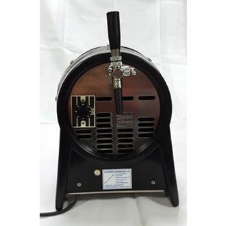 Durchlaufkühler, Fassform, mit 1 Hahn