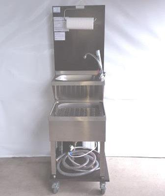 Handwaschbecken mit Ausgussbecken