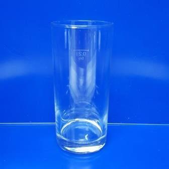 Longdrinkglas, ohne Werbeaufdruck