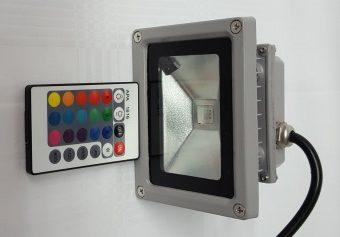 Strahler, LED, 16-Farben-Fluter