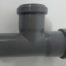 Wasser-Abflussrohr, Ø 50 mm, T-Stück